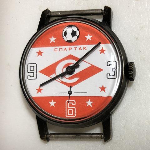 мужские часы Слава СССР 26 камней антрацитовые