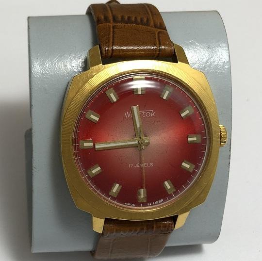 наручные часы Луч СССР тонкий корпус 23 камня белые