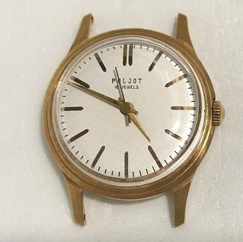 Наручные мужские часы Полет эпохи СССР 16 камней