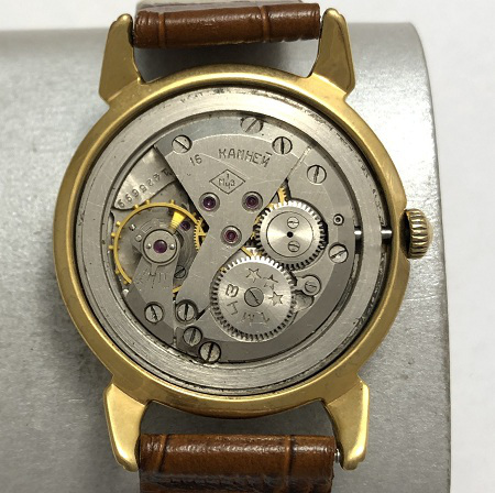 Наручные мужские часы Кировские СССР позолоченные
