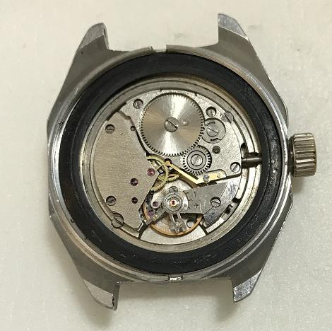Командирские часы механические не дорого