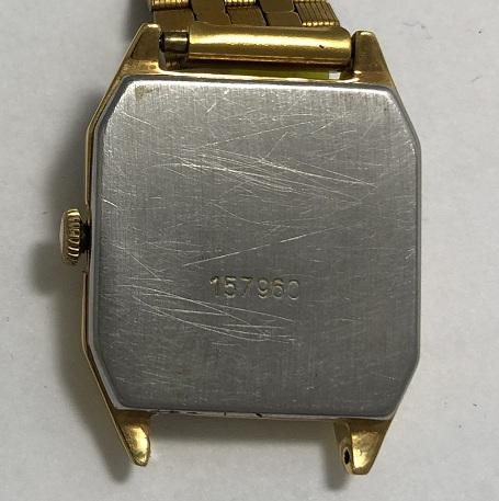 Мужские наручные часы Луч СССР позолота двухцветные