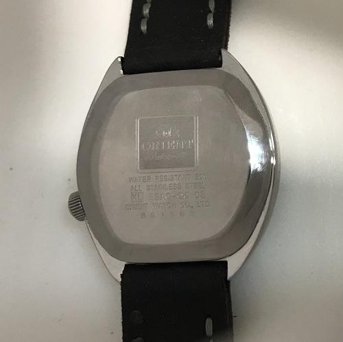 Мужские наручные Часы Orient коричневый циферблат япония