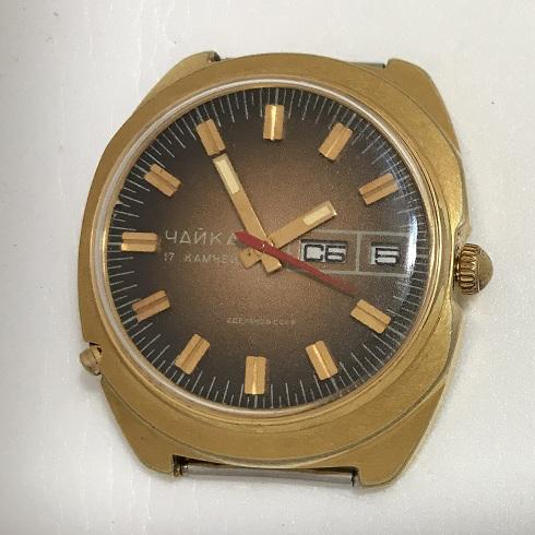 Мужские наручные часы Чайка СССР со звездой