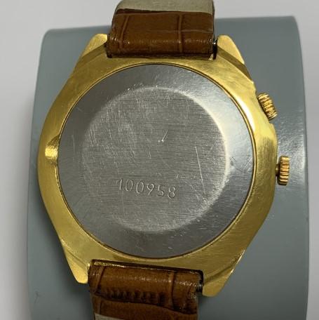 наручные часы Слава СССР автомат 27 камней позолота