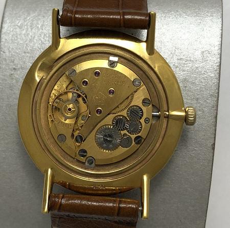 Мужские наручные часы Полет de luxe автомат СССР 29 камней черный циферблат