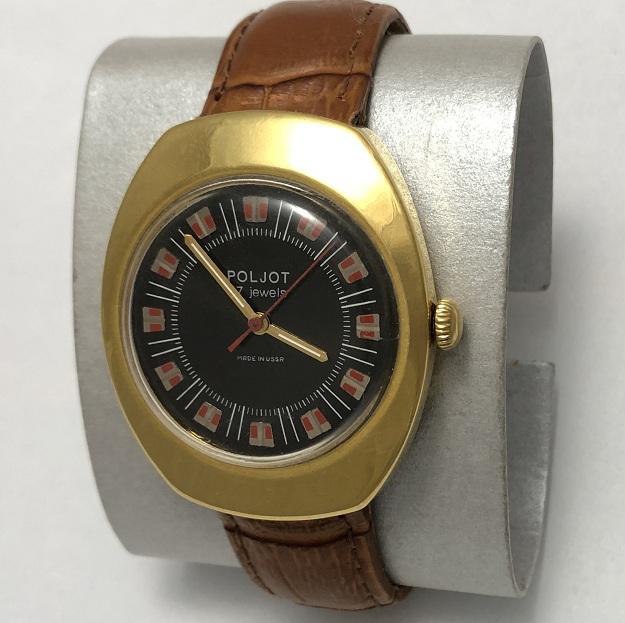мужские часы Полет СССР будильник с браслетом