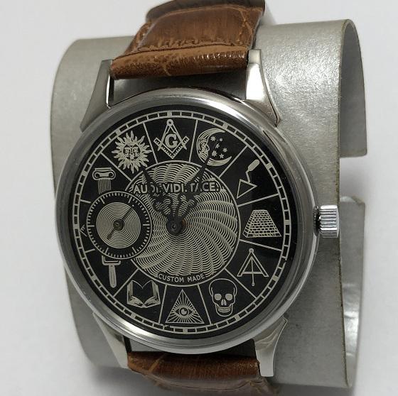 Мужские наручные часы Молния механические из СССР марьяж