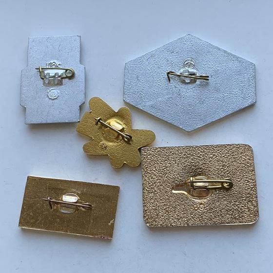 Наручные мужские часы Восток СССР 17 камней ушастые в позолоте
