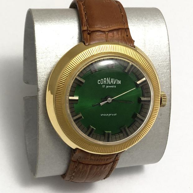 наручные часы Ракета СССР 2609 НА позолоченный корпус