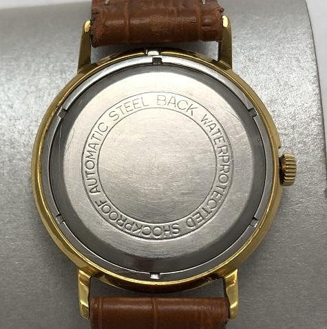 наручные часы Ракета СССР черные в позолоте редкие