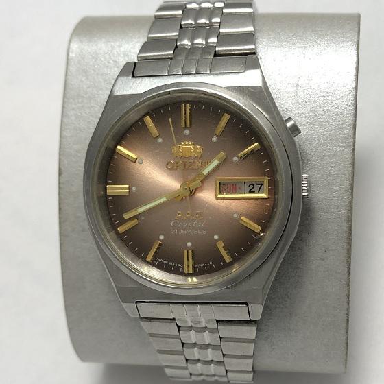 Мужские наручные Часы Orient механика AAA коричневые
