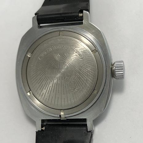 мужские часы Слава 26 камней СССР желтые