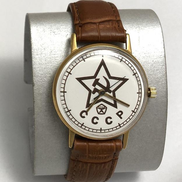 Мужские наручные часы Полет СССР 23 камня звезда