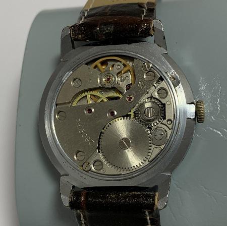Мужские наручные часы Слава СССР 21 камень позолота бордовые
