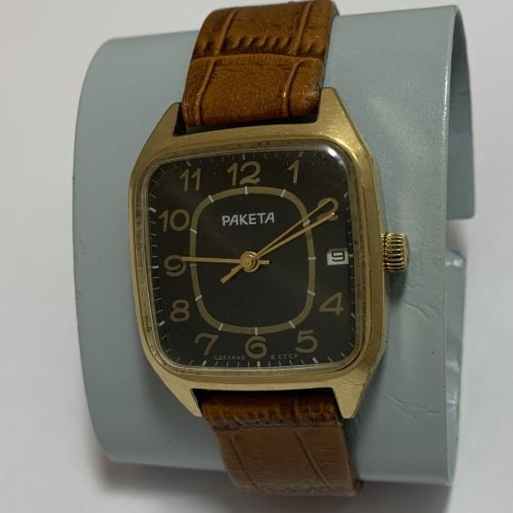 Наручные часы командирские СССР Чистополь в позолоте