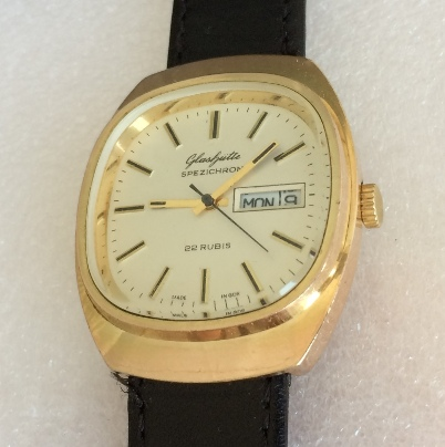 Мужские наручные часы Glashutte original spezichron automatic