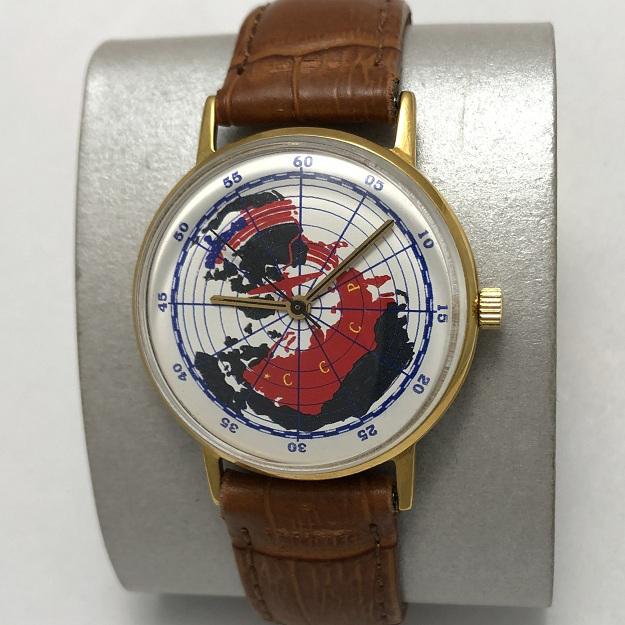 наручные часы Восток СССР AU экспортные белые