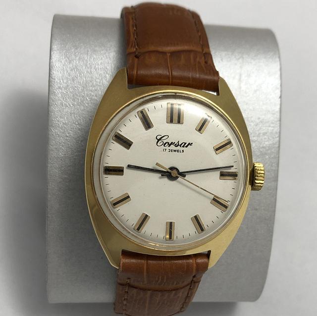 Мужские наручные часы Corsar СССР интересные