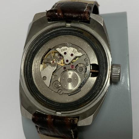 Наручные часы ракетаДжинс коричневые СССР 2609