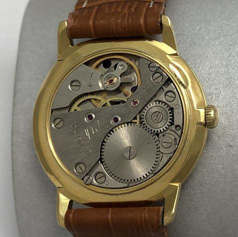 Мужские наручные часы Ракета СССР 2609 НА черные в позолоте