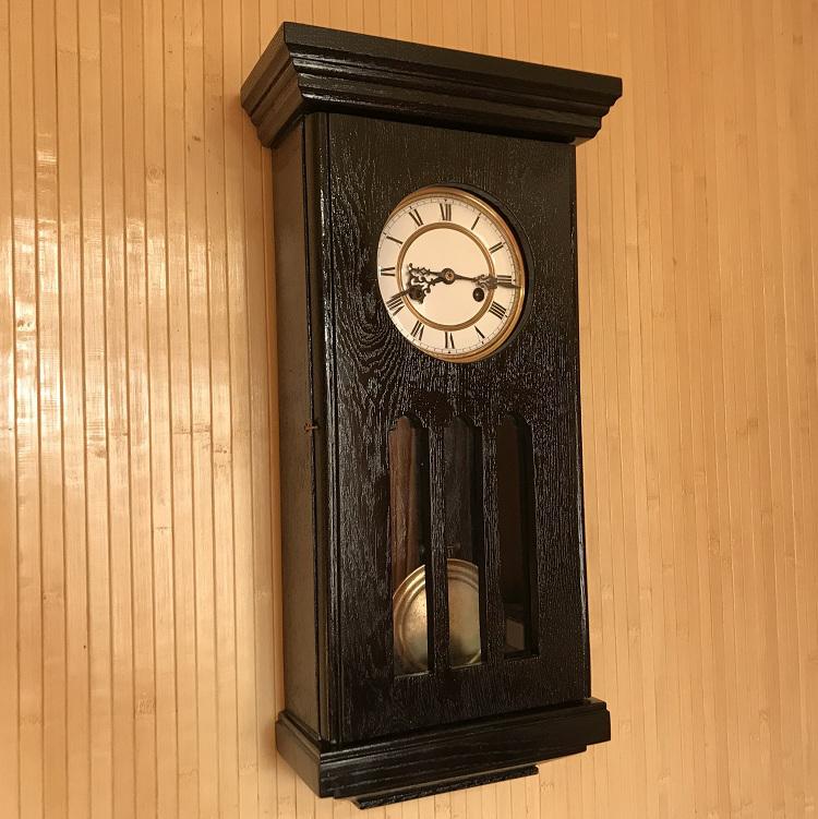 Старинные настенные часы Gustav Becker начало 20 века