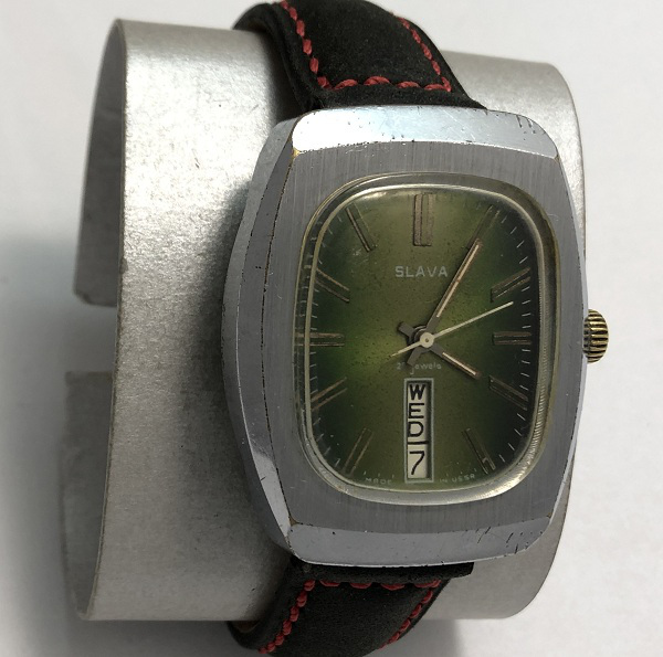 Наручные мужские часы Слава 26 камней СССР не дорогие