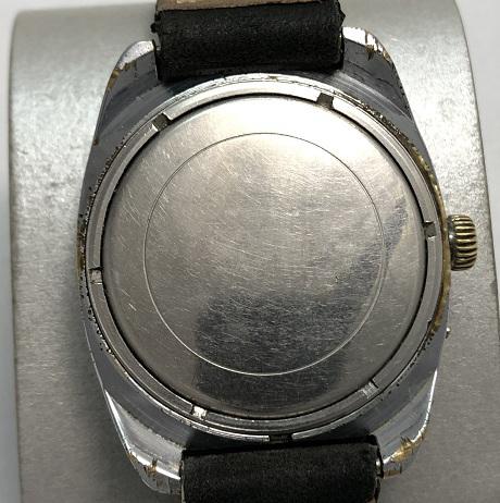 наручные часы Заря СССР овальные позолоченные болотные