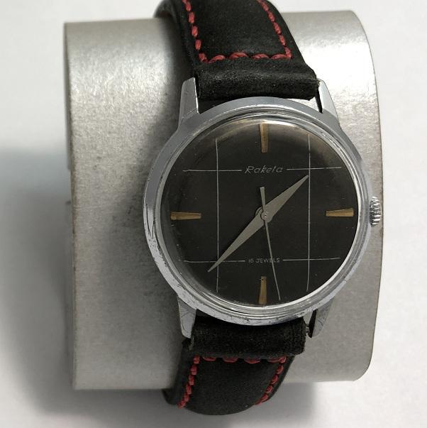 наручные часы Ракета СССР 2609 НА позолоченные бежевые