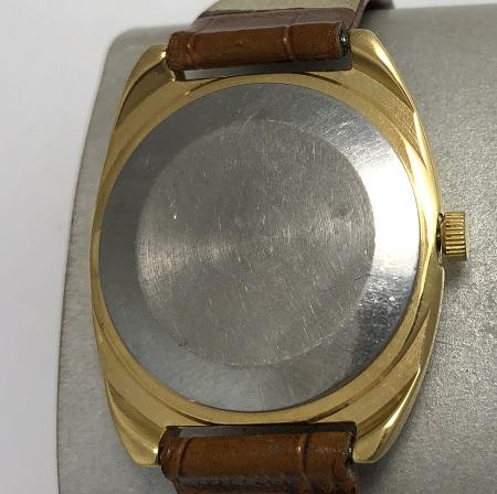 наручные часы Луч СССР 23 камня бордовые