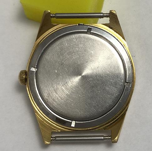 Мужские наручные часы Полет СССР интересные позолоченные