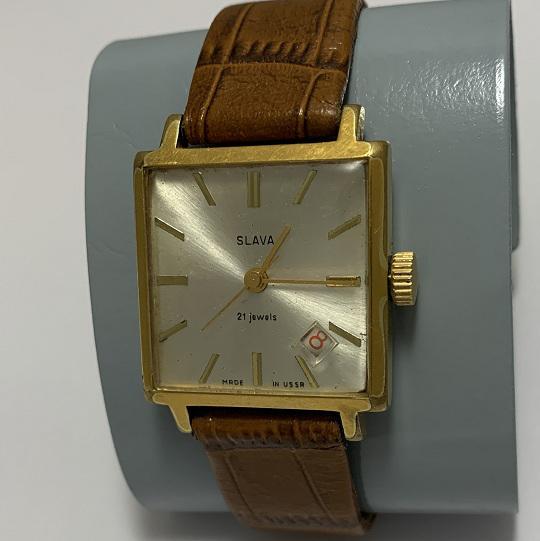 наручные часы Seconda СССР 17 камней позолоченные