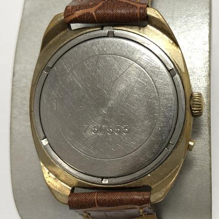 Наручные часы Слава из СССР солидные