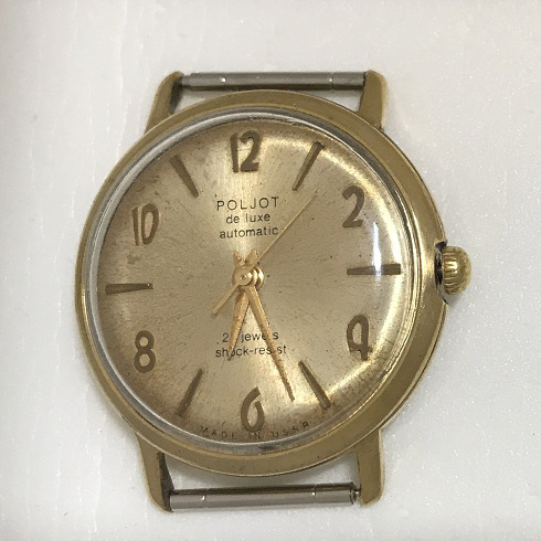Мужские наручные часы Poljot de luxe 29 jewels USSR