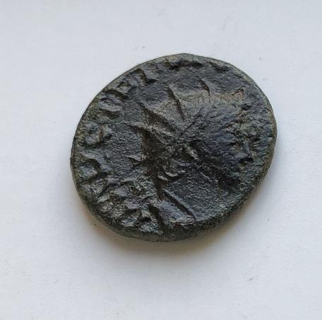 Монета древний Рим Констант