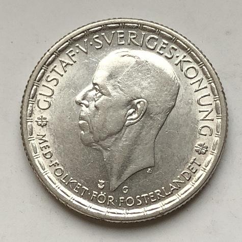 Старинная редкая шведская монета