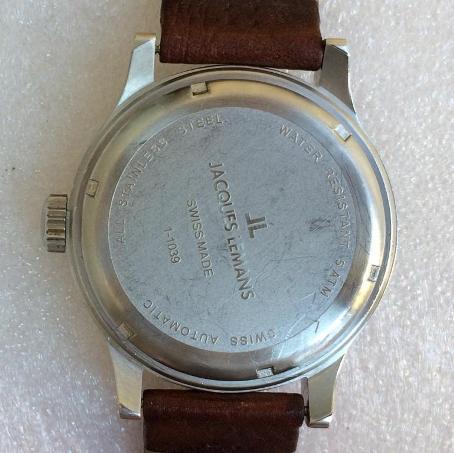 наручные швейцарские часы Jacques Lemans