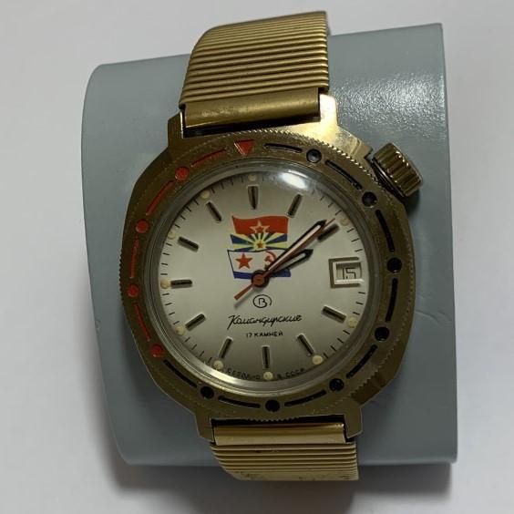 Мужские наручные часы Полет СССР 23 камня позолота автоподзавод