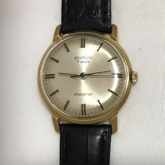 Мужские наручные часы Seconda времен СССР