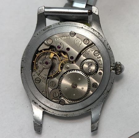 Мужские наручные часы Кама СССР рифленые