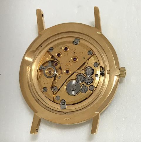 Мужские наручные часы Полет de luxe СССР 23 камня позолота