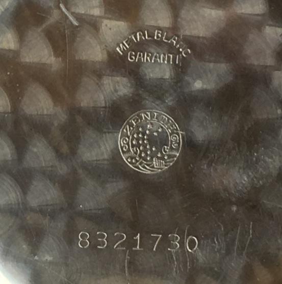 Мужские наручные швейцарские часы Zenith