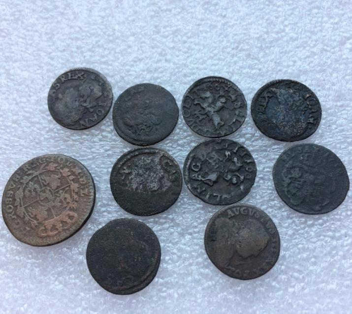 европейские средневековые монеты солиды