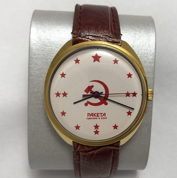 Мужские наручные часы Ракета СССР серп и молот