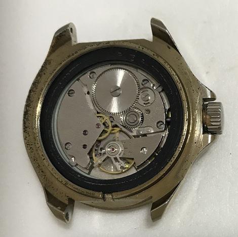 наручные часы Луч плоские СССР в позолоте интересные