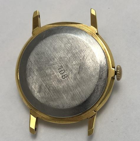 наручные часы Чайка медицинские СССР позолоченные
