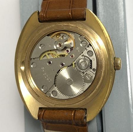Наручные мужские часы Слава СССР позолоченные AU 10