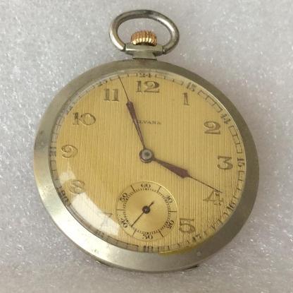 швейцарские карманные часы Silvana
