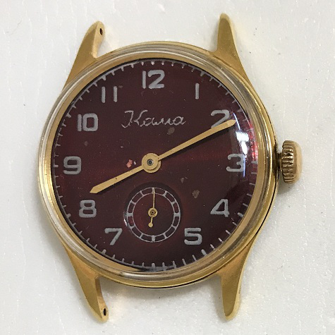 Командирские часы Чистополь Восток черные