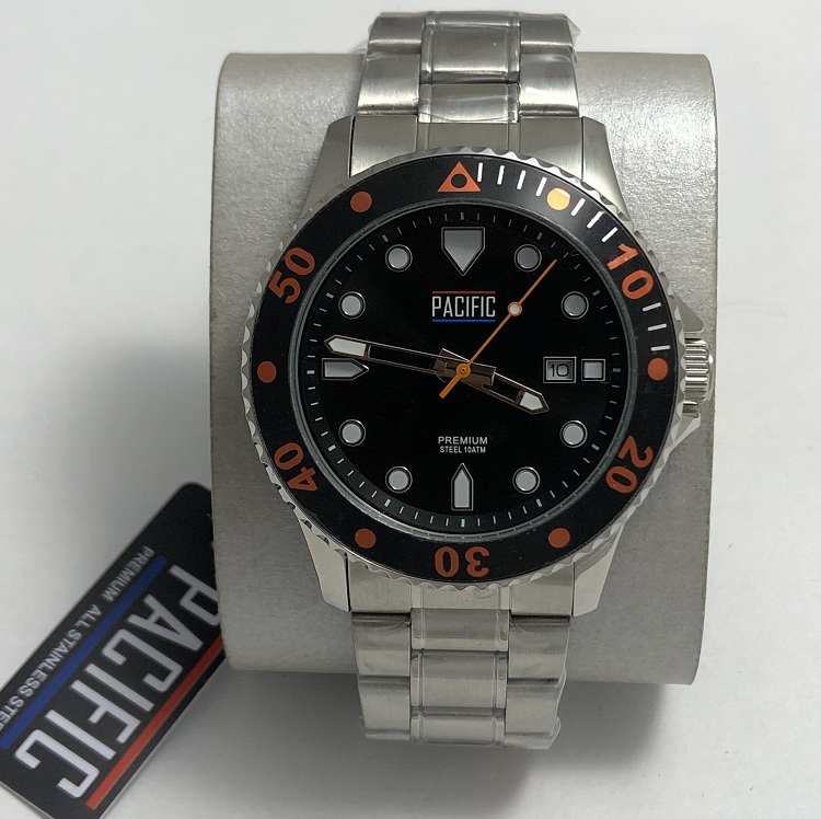 Наручные мужские часы хронограф Pacific S1017